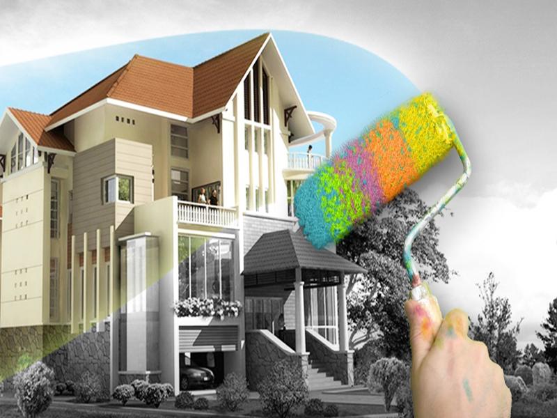 sơn nhà chống thấm