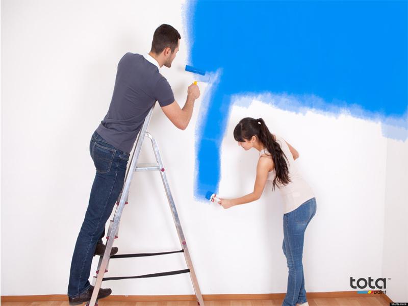 cách tính sơn nhà