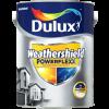 Sơn Nước Ngoại Thất Dulux Weathershield Powerflexx Bề Mặt Mờ – Màu trắng – BJ8-25155 – 5 lít